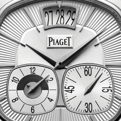 Piaget White Gold Dual Time Zone G0A32016 1