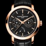 Rose Gold Vacheron Constantin Traditionnelle Day-Date and Power Reserve Copy Watch