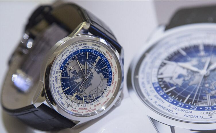 Jaeger LeCoultre Geophysic universal time replica