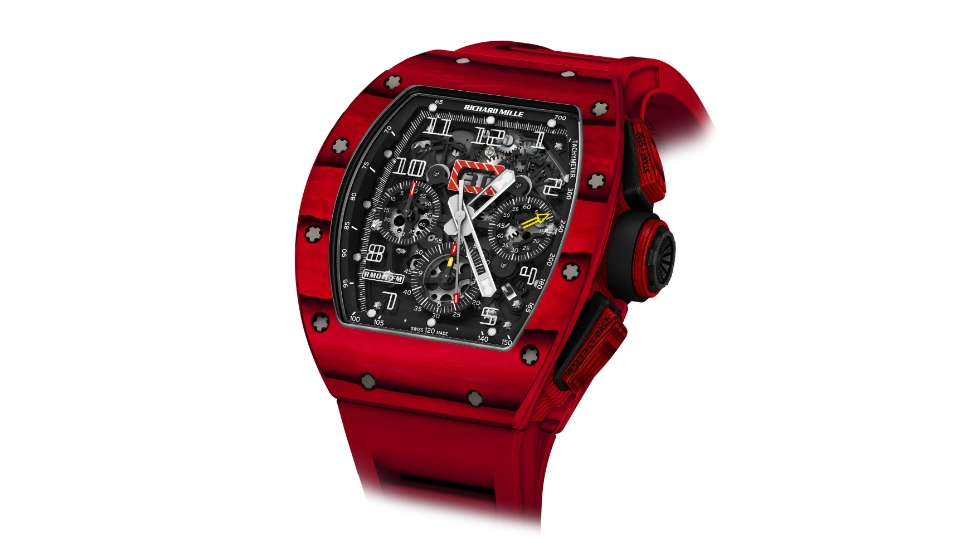 Richard Mille RM 011 Red Tpt Quartz Replica