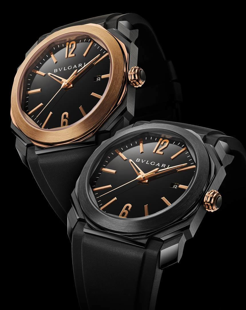Bulgari Octo Solotempo Ultranero replica