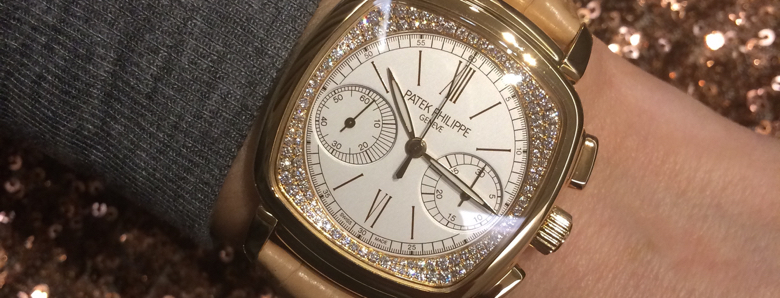 Patek Philippe Ladies First Chronograph replica