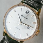 Hands-on With The Well Polished, Gorgeous Montblanc Meisterstuck Heritage Spirit Date Automatic Replica Watch