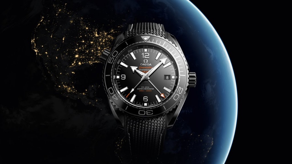 Omega Seamaster Planet Ocean Deep Black replica
