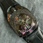 Welcome The Distinguished Charming Urwerk UR-106 Black Pink Lotus Replica Watch