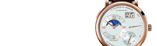Rose Gold A. Lange & Sohne Grand Lange 1 Moon Phase Watch Replica Ref. 139.032