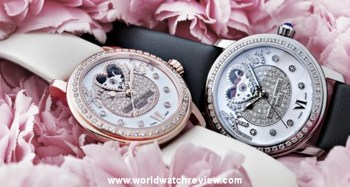 Frederique Constant Amour Pavee Heart Beat watch replica