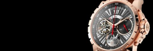 Roger Dubuis Excalibur Flying Tourbillon Monopusher watch