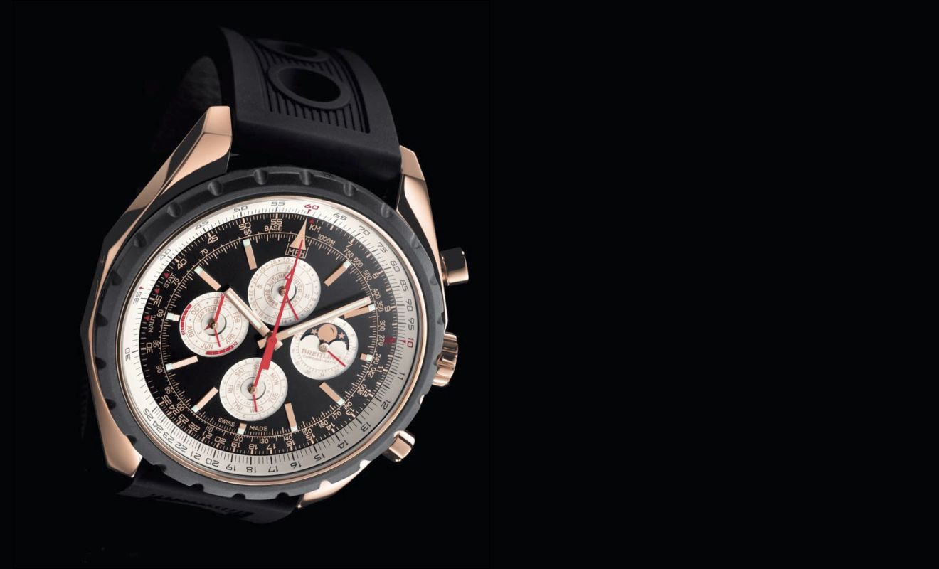 Meet The Swiss Made Rose Gold Breitling Chrono-matic QP Replica Watch
