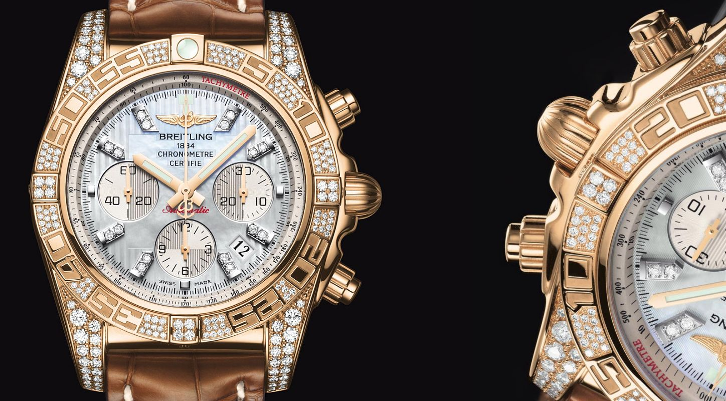 Breitling Chronomat 01 Diamonds watch