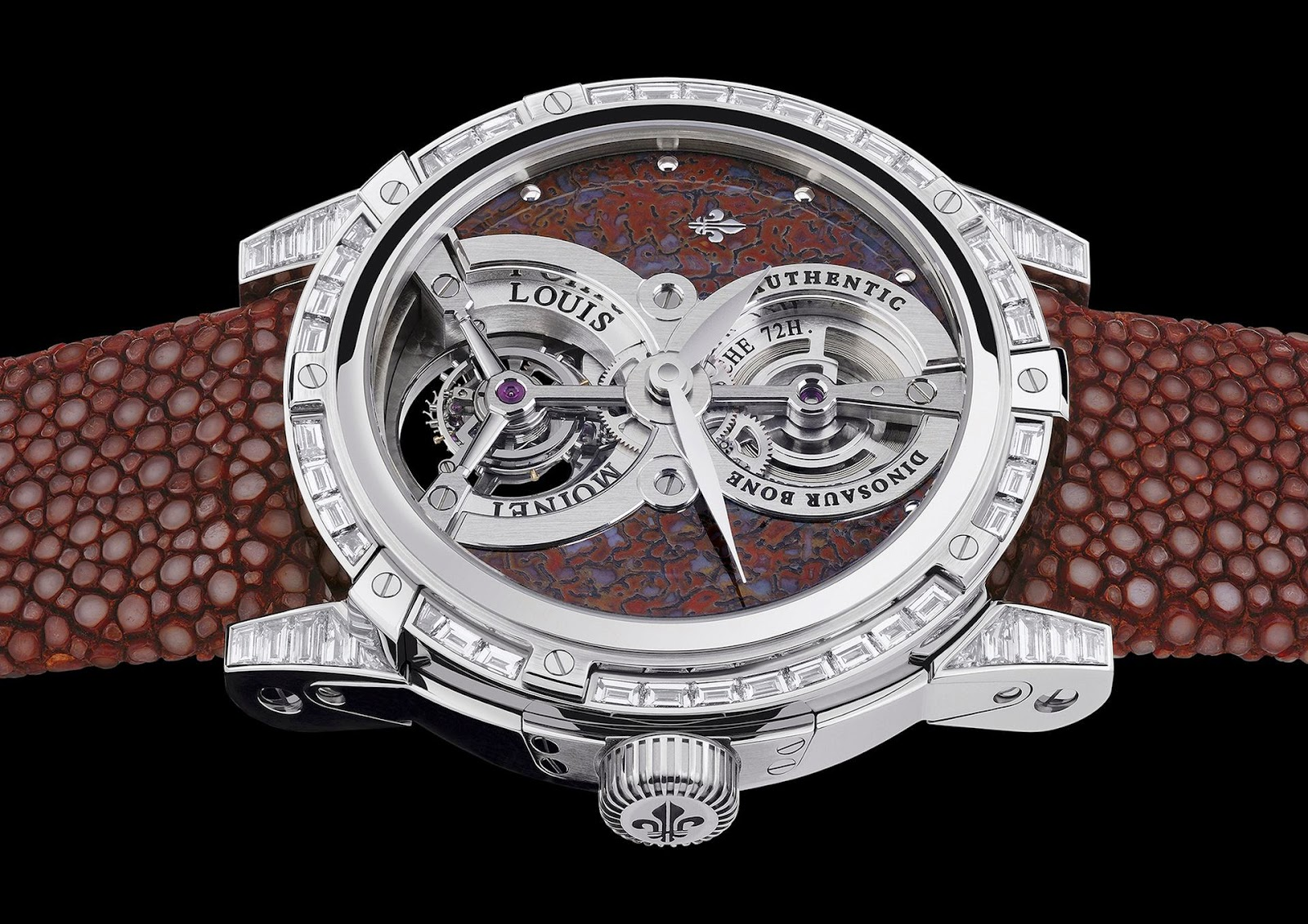 Louis Moinet Time Explorator Tourbillon watch replica