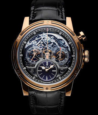 Louis Moinet Memoris Chronograph watch replica