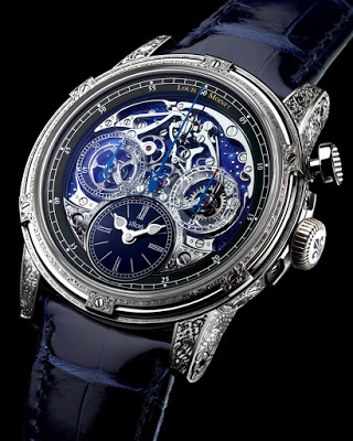 Louis Moinet Memoris Red Eclipse watch replica