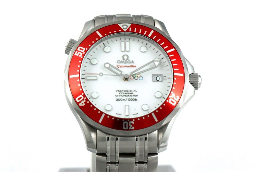 Omega Seamaster Professional 300m Olympic 2010 replica watch