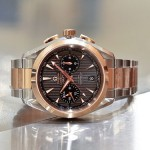 The Luxury And Elegant Omega Aqua Terra Chronograph GMT Replica Watch