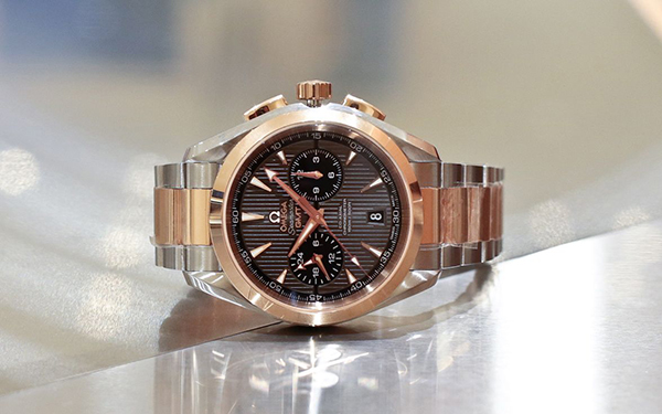 Omega Aqua Terra Chronograph GMT Replica watch