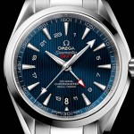 Introduce The Luxury Omega Aqua Terra GMT Copy Watch with Blue Dial