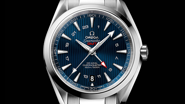Omega Aqua Terra GMT replica watch