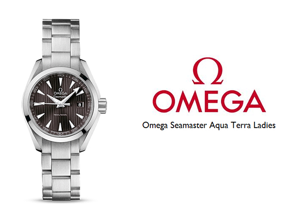 Omega Aqua Terra Ladies Quartz Copy watch
