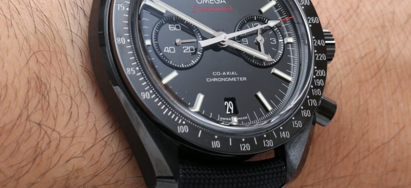 Omega Speedmaster Co-Axial Chronograph Dark Side Of The Moon replica