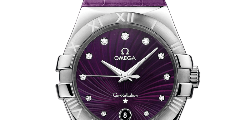 35mm Omega Constellation Ladies Diamonds replica
