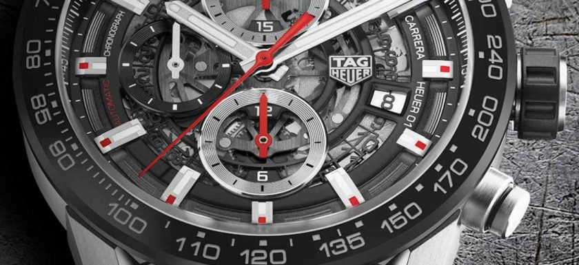 a067cc19548 Best Place To Buy TAG Heuer Carrera Heuer-01 43mm Watches For 2017 Grade 1  Replica Watches